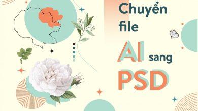 chuyển File AI sang PSD